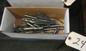ASSORTED MILLING CUTTERS