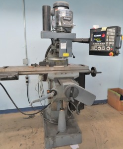 BRIDGEPORT BY HARDINGE 2HP 3-AXIS CNC MILLING MACHINE