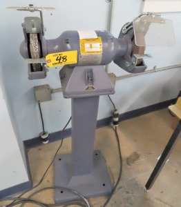 "BALDOR 1/2HP 6"" DOUBLE END PEDESTAL GRINDER"