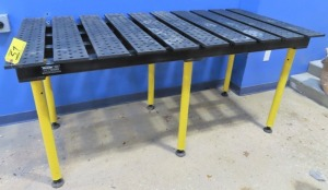 "STRONG HAND TOOLS 38"" X 78"" WELDING TABLE"