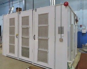 STANDARD MDL. MSCF-1000 3-DOOR PAINT BOOTH