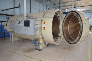 BOND TECH MDL. 13492 COMPOSITE AUTOCLAVE