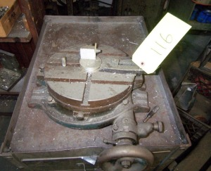 "10"" ROTARY TABLE"