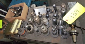 LOT OF TAPER TOOL HOLDERS (FOR DRILL MACHINES)