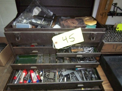 TOOL CABINET & CONTENTS