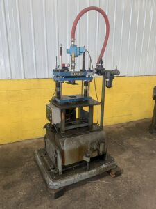 3 TON AIRAM MDL. ATP500 4-POST DUAL MOUNTED CUTOFF PRESS (#13725) [LOCATED IN TOLEDO, OH]