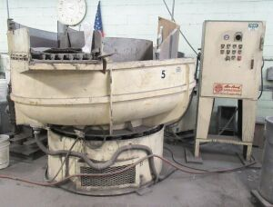 "ROTO-FINISH ""SPIRATRON"" VIBRATORY FINISHER (LOCATED IN DEER PARK, NY)"