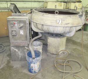 ALMCO VIBRATORY FINISHER (LOCATED IN DEER PARK, NY)
