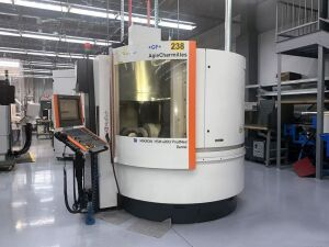 Mikron Model HSM-400U CNC 5-Axis High-Speed Machining Center